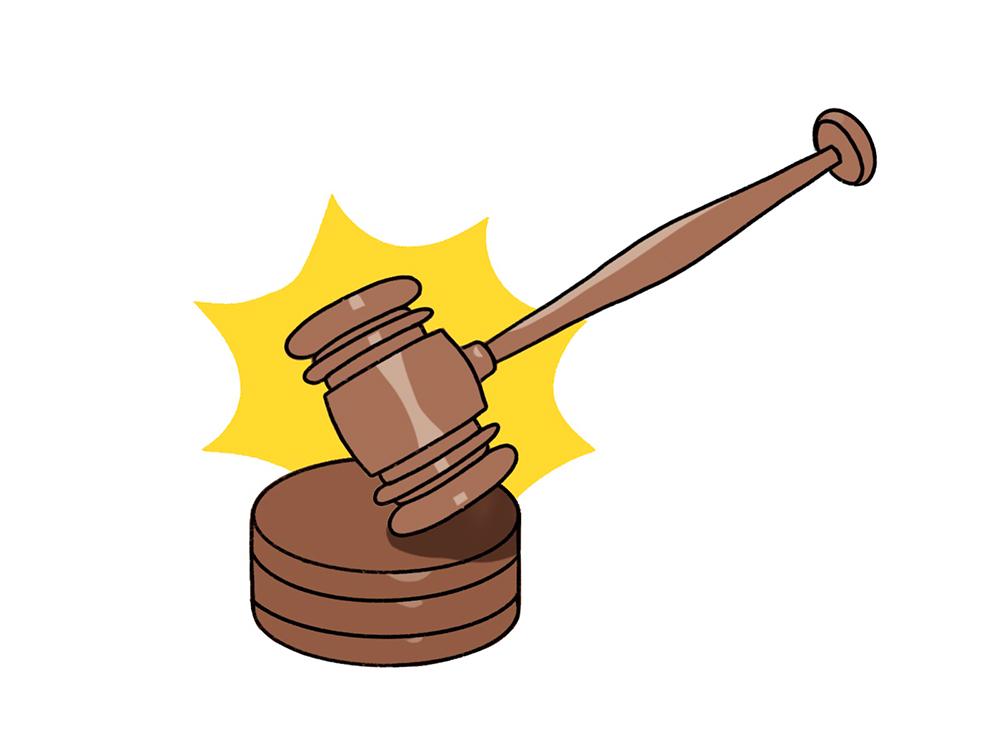 裁判のガベル